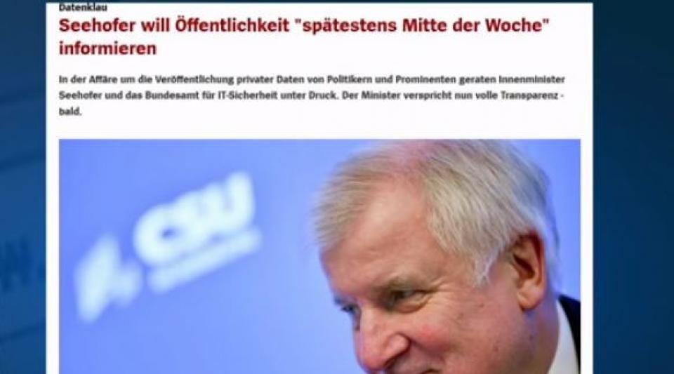 Allemagne : le gouvernement face à une crise majeure après le scandale du piratage
