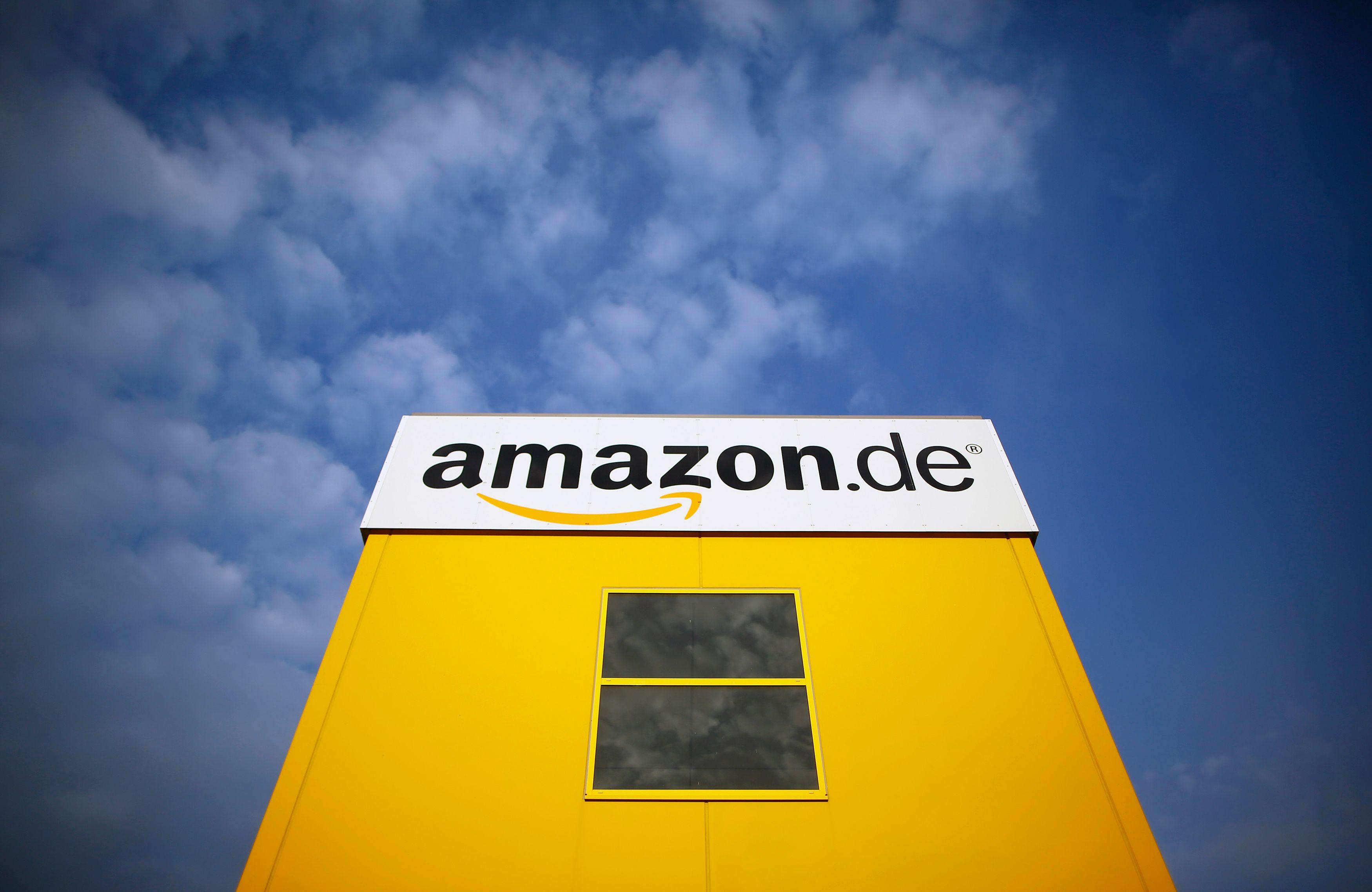 Le logo de la marque Amazon