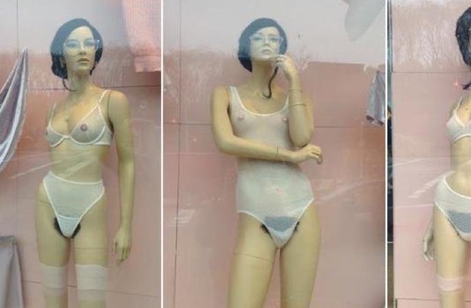 American Apparel : des mannequins poilus dans ses vitrines