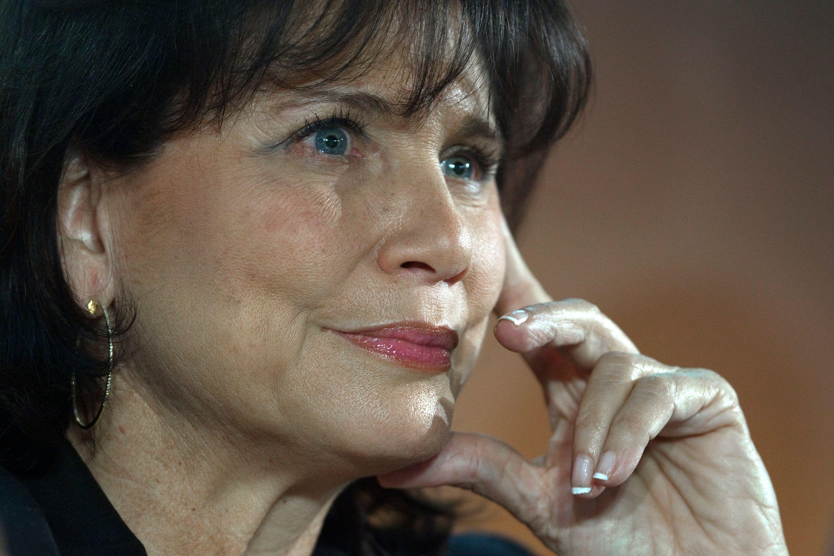 """Anne Sinclair se confie sur l'affaire DSK : """"Il y a du déni de la femme qui ne veut pas voir"""""""