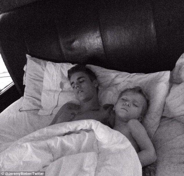 Justin Bieber : la photo qui montre que le bad boy est un ado normal