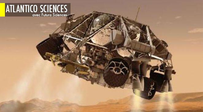 La probabilité qu'une forme de vie produisant du méthane existe sous la surface de Mars s'éloigne.