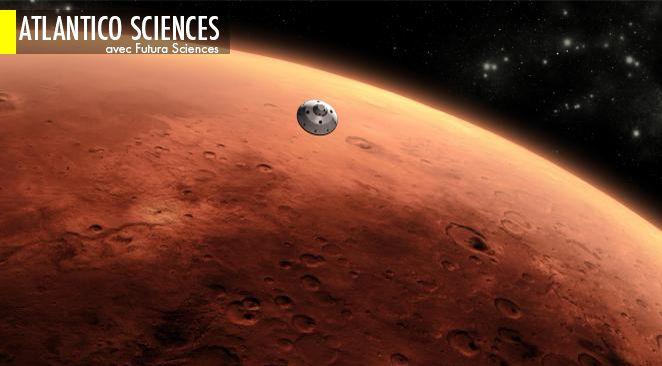 Phobos et DéimosDepuis la planète Mars, le rover Curiosity, actuellement en route vers le mont Sharp, a observé les deux lunes de Mars, Phobos et Déimos, au moment où la plus grande occultait l'autre.