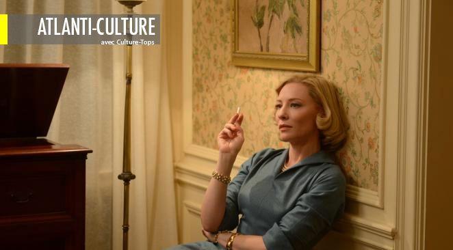 Cate Blanchett a reçu le prix d'interprétation féminine au dernier Festival de Cannes pour le rôle de Carol.