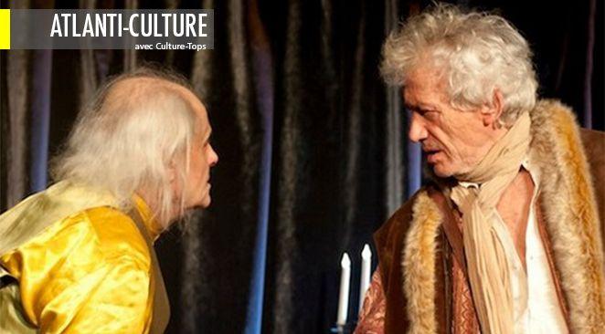 """""""Voltaire Rousseau"""" se joue au théâtre de Poche Montparnasse."""