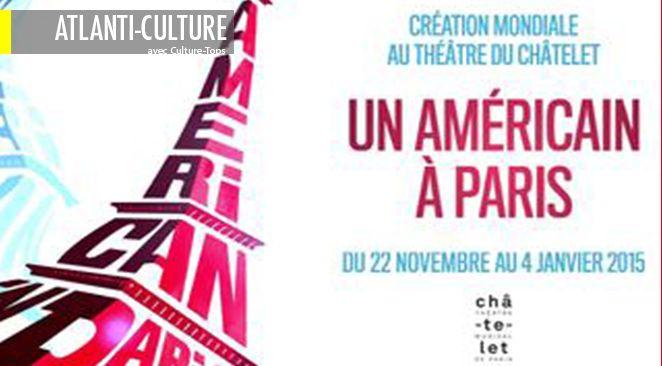 """""""An American in Paris"""" se joue au théâtre du Chatelet."""