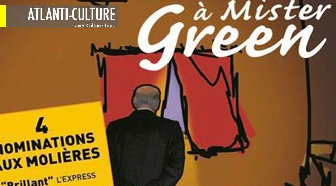 """""""Visites à Mister Green"""" se joue à la Comédie-Bastille."""