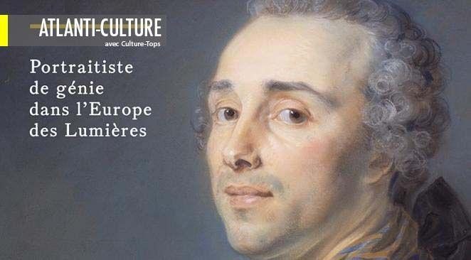 Portraitistes du 18° siècle: Perronneau, l'égal de Delatour?