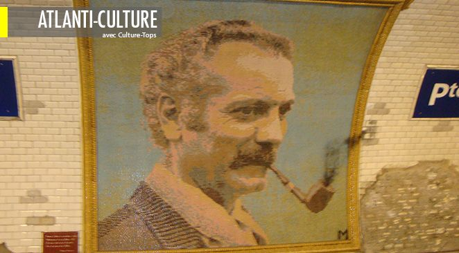 """Le """"Cabaret Georges Brassens"""" se joue au Studio Théâtre: Galerie du Carrousel du Louvre."""