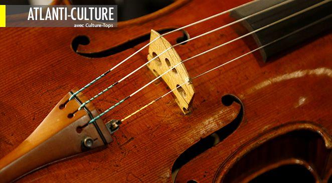 Si la langue française est un violon, Jean Echenoz, avec virtuosité, l'élève dans ces sept nouvelles au rang de Stradivarius (ici en illustration).