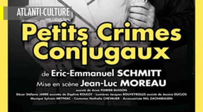 """""""Petits crimes conjugaux"""" : intelligence, finesse, lucidité"""