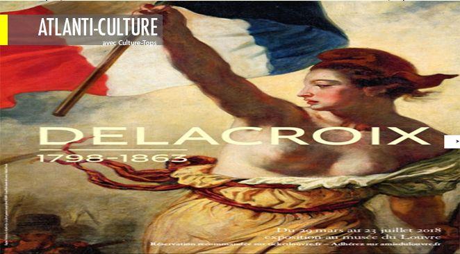 """""""Exposition Delacroix"""" : audace, génie. Violence, sexe et passion"""
