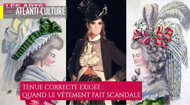 L'exposition relate, du 18ème siècle à nos jours, l'évolution du code vestimentaire, et invite le spectateur à revisiter les scandales qui ont marqué les grands tournants de l'histoire de la mode.