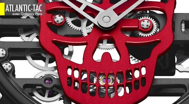 La tradition des crânes philosophiques est désormais un exercice obligé pour les horlogers d'avant-garde…