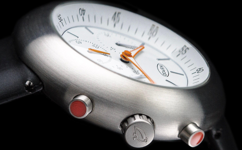 Le boîtier profilé comme une soucoupe volante d'une légende du design horloger contemporain…