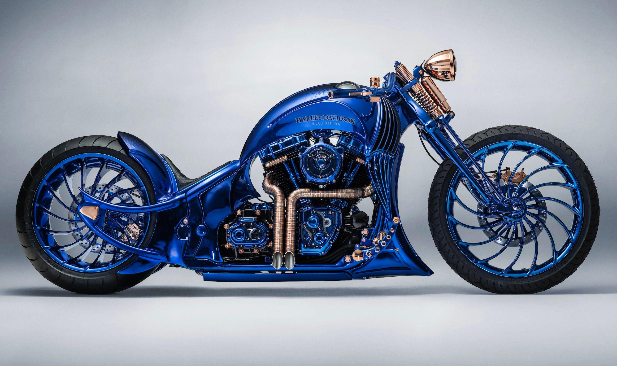 Signée Bucherer + Harley-Davidson, la moto la plus chère et la plus horlogère du monde vous sera facturée 1,888 millions d'euros...