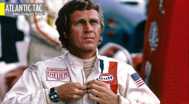 Steve McQueen, amoureux des montres, mais héros fondateur des bad boys de la grande légende du XXe siècle…
