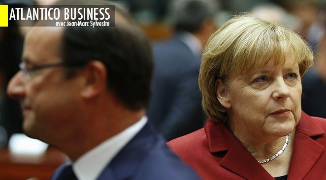 Conseil des ministres Franco-Allemand : Angela Merkel va essayer de sauver le soldat Hollande