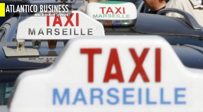 Les taxis sont en grève ce lundi à Paris, Marseille et dans les grandes villes de France.