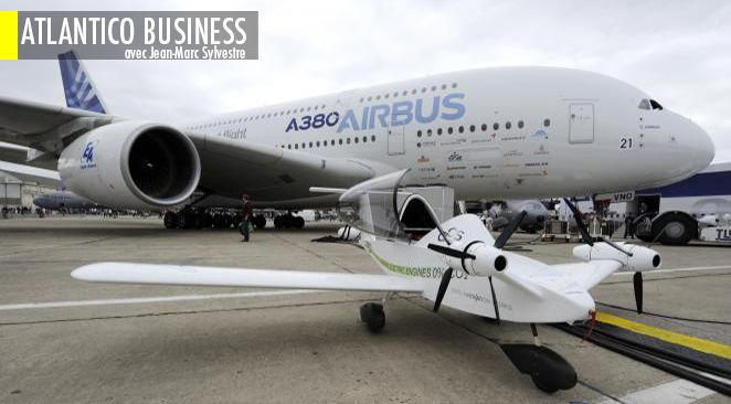 Pierre Moscovici a annoncé la cession par la France de 1% du capital d'Airbus Group (ex-EADS).