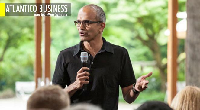 Satya Nadella pourrait être le prochain PDG de Microsoft