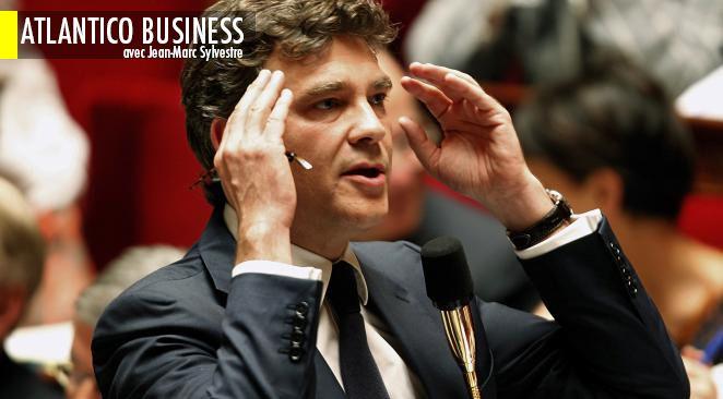 Arnaud Montebourg, ministre du Redressement productif, s'insurge contre la valeur de l'euro, frein