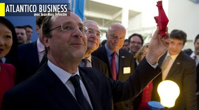 François Hollande en visite au pays des start-up... et les 9 autres infos éco du jour