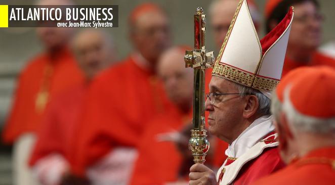 """Le """"Pape des pauvres"""" engage des réformes pour sortir son institution de la crise financière qu'elle traverse..."""