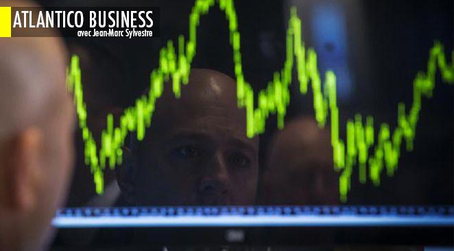 Contrairement à toute attente, les taux d'intérêt remontent et la valeur des actions baisse.