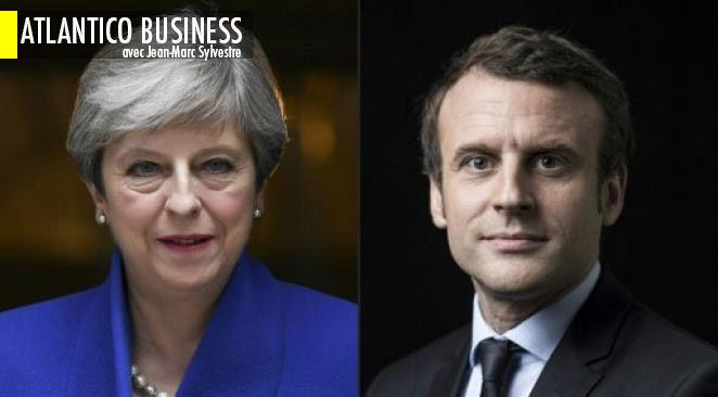 Emmanuel Macron, le pari fou : sortir Theresa May du pétrin dans lequel elle s'est mise et prendre le leadership de l'Europe