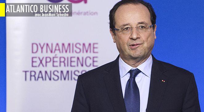 François Hollande persiste à croire possible une reprise de l'économie française cette année.