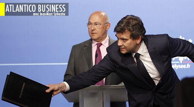 Arnaud Montebourg a été nommé ministre de l'Économie, du Numérique et du Redressement productif. Michel Sapin aura la responsabilité des Finances et de la dépense publique.