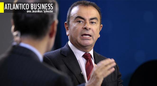 """A l'Automobile Club de France, Carlos Ghosn a déclaré que """"le groupe Renault est sorti de la crise en 2013 [...] en bien meilleur état qu'en 2008"""""""