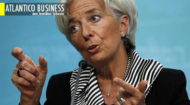 Le FMI demande un allègement de la dette grecque.