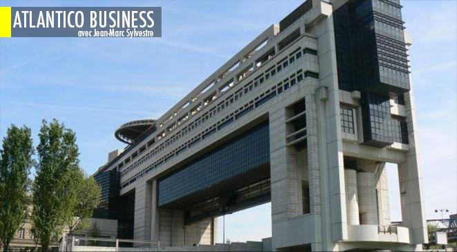 Le ministère de l'Économie à Paris.