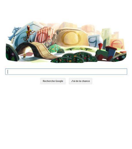 Google Doodle : second Doodle pour les fêtes