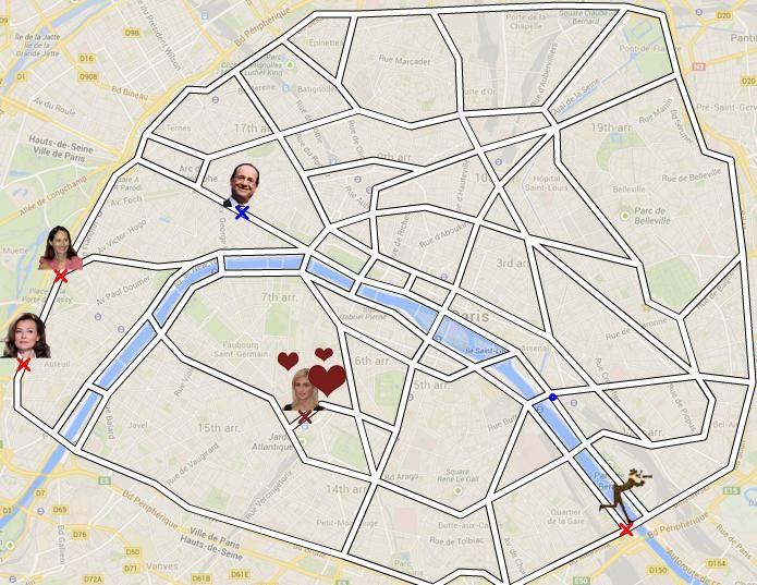 Affaire Hollande/Gayet : Scooter-Man, nouveau jeu lancé sur la rumeur de leur relation