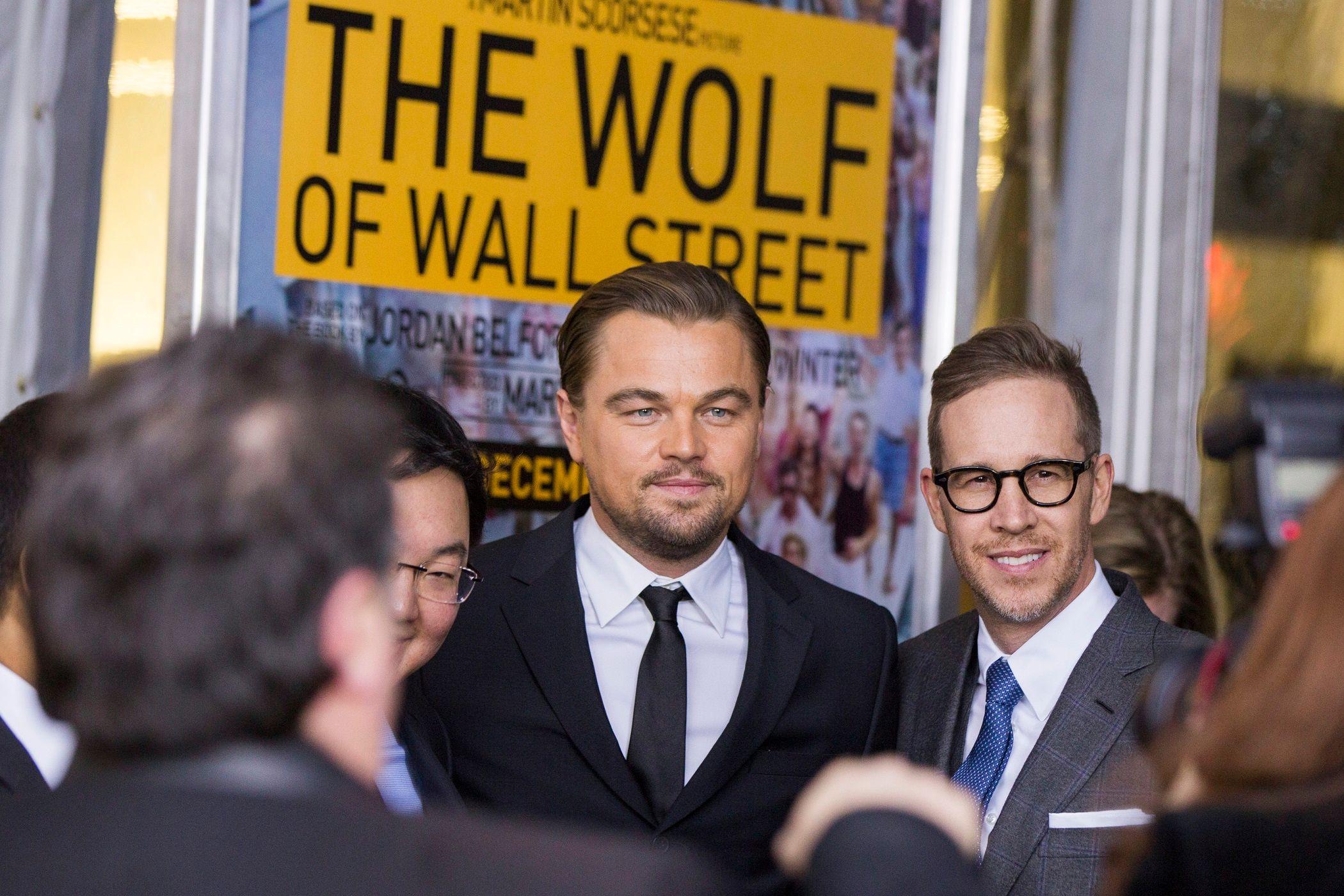Leonardo DiCaprio interprète le trader Jordan Belfort.