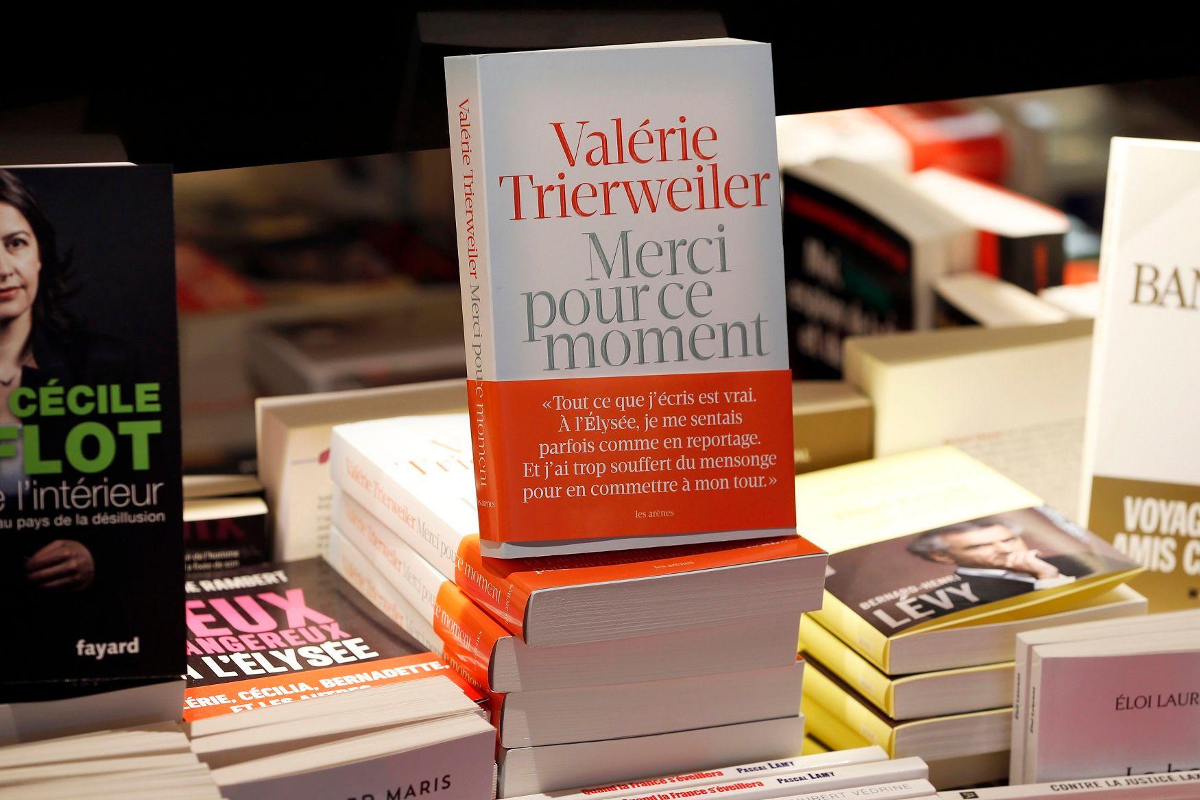 Le livre de Valérie Trierweiler s'est vendu à 600 000 exemplaires