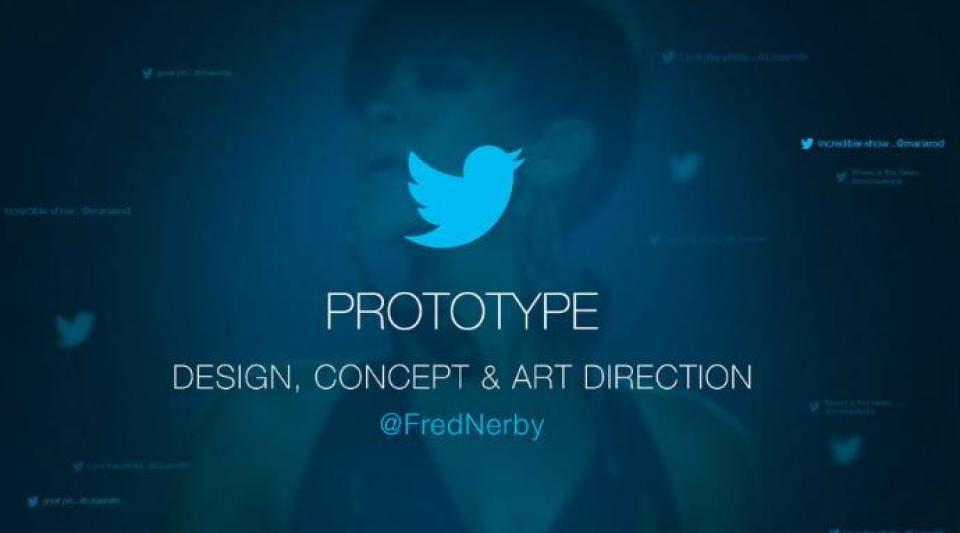 Twitter Concept : le réseau social redessiné par Fred Nerby