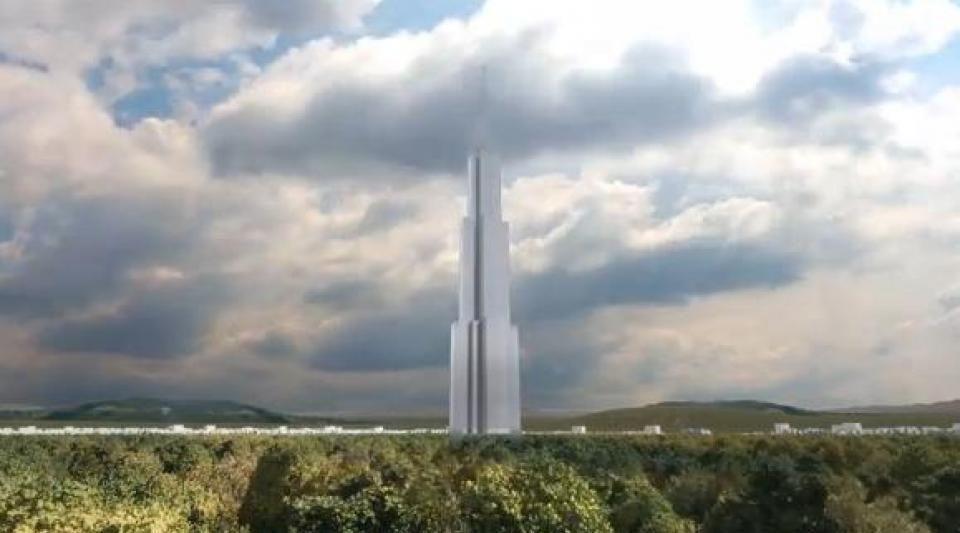 Sky City : la plus haute tour du monde, construite en sept mois, va bientôt voir le jour en Chine