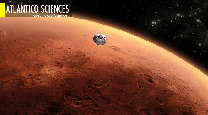 Mars : de l'eau liquide s'infiltrerait dans le sol la nuit.