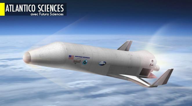 La Darpa (Defense Advanced Research Projects Agency) développe un projet de véhicule suborbital dans le cadre de la première partie du programme XS-1. Ici, le concept proposé par Northrop Grumman, Scaled Composites et Virgin Galactic à l'agence américaine