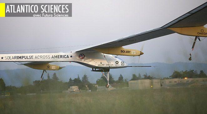 Solar Impulse : l'avion solaire s'apprête à traverser le Pacifique