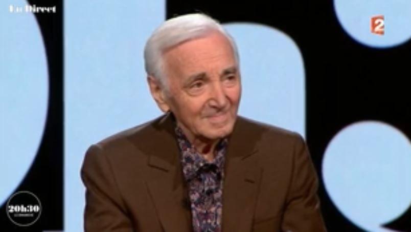 """Charles Aznavour propose de trier les migrants pour ne pas rater """"les génies"""" et les gens """"utiles"""""""