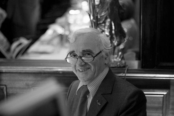Charles Aznavour se produira pour la première fois à Bercy le 13 décembre
