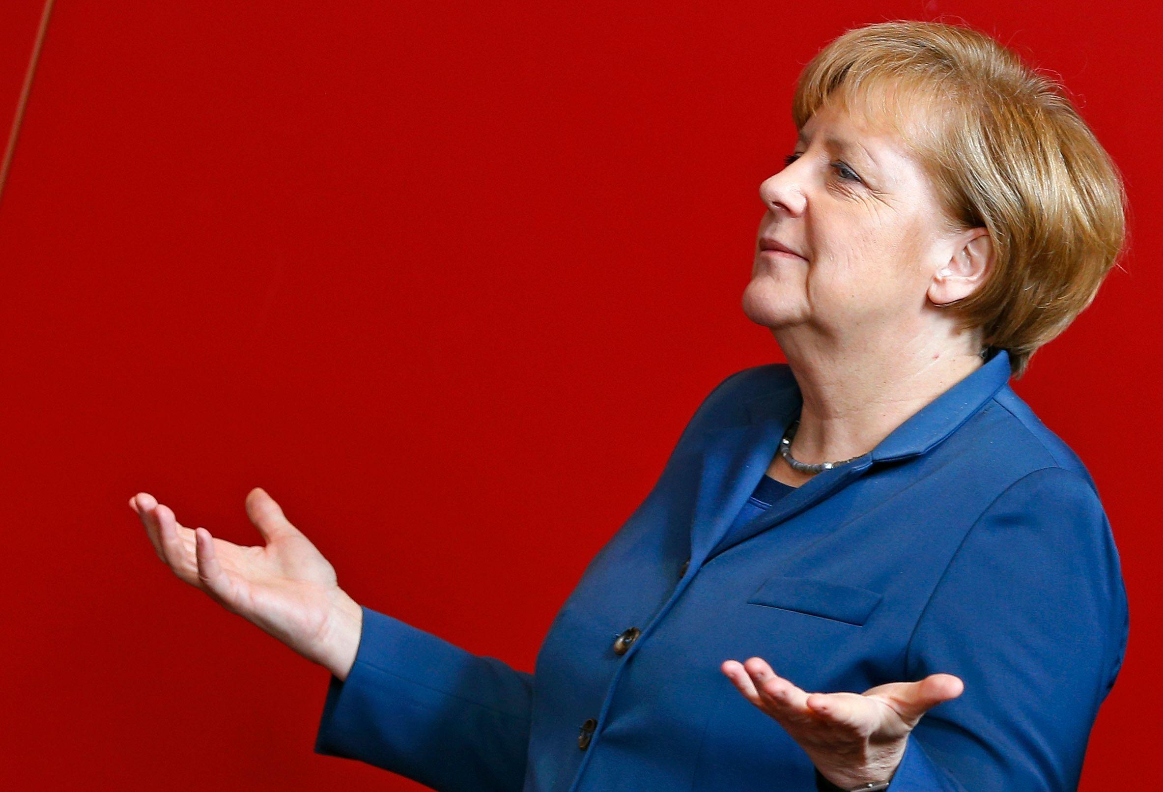 Les Allemands sont globalement très favorables à l'Union européenne.Photo : Angela Merkel.