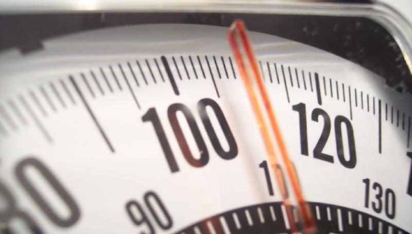 L'indice de masse corporelle est calculé en divisant le poids par la taille au carré.
