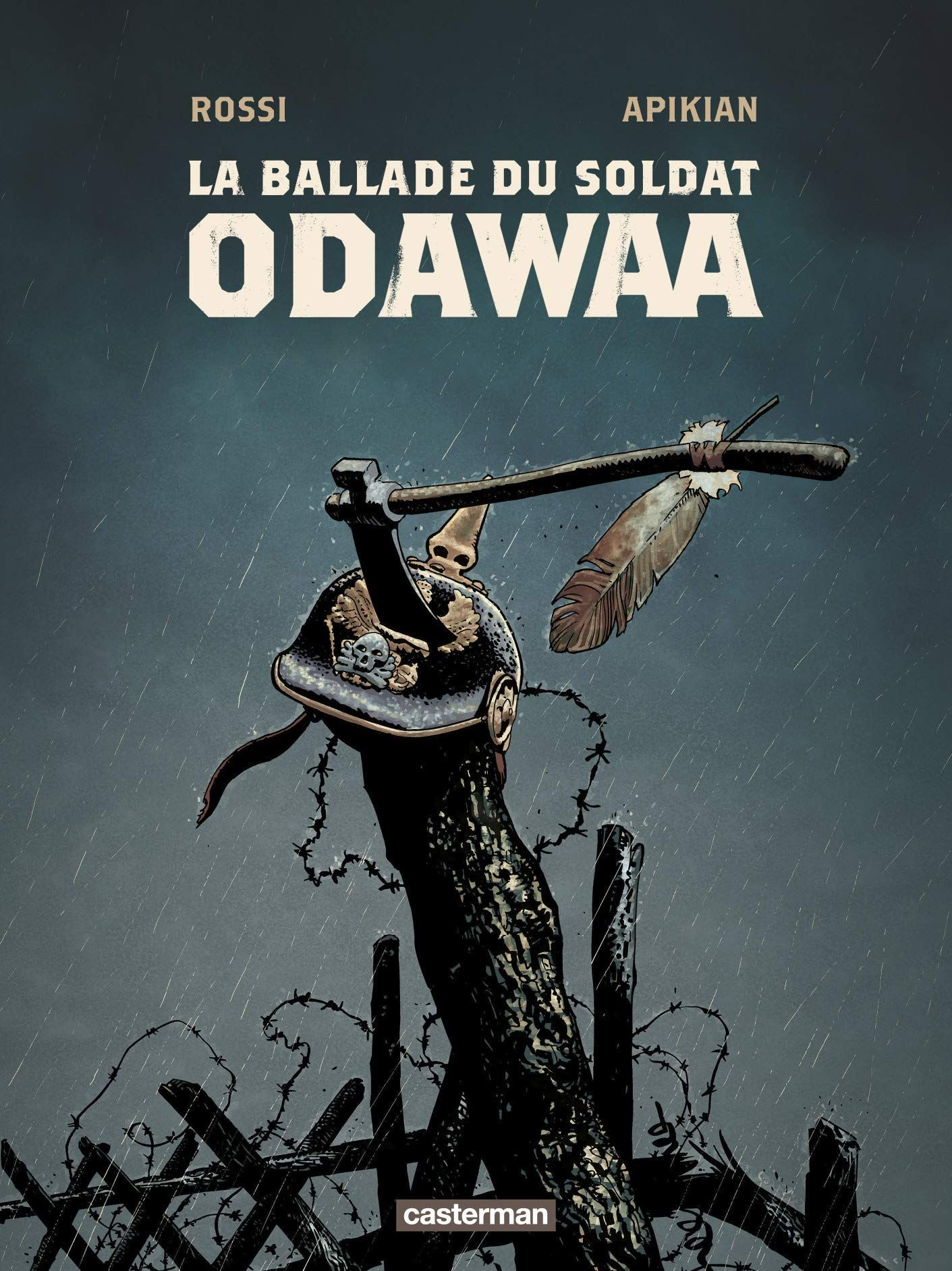 """""""La ballade du soldat Odawaa"""" de Christian Rossi et  Cédric Apikian : ambiance crépusculaire pour ce western moderne"""