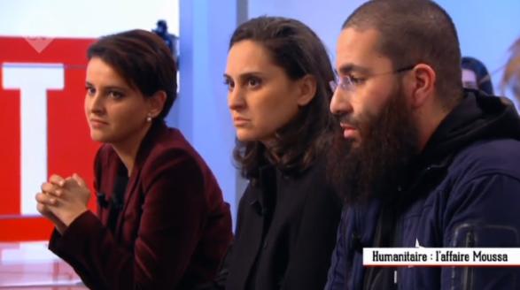 """Malaise sur le plateau du """"Supplément"""" : l'intolérable réserve de Najat Vallaud-Belkacem face à un représentant associatif musulman rechignant à condamner l'Etat islamique"""